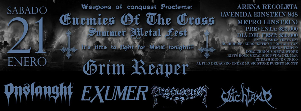 Enemies of the Cross Summer Metal Fest