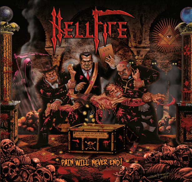 Proximo disco de Hellfire estará disponible próximamente